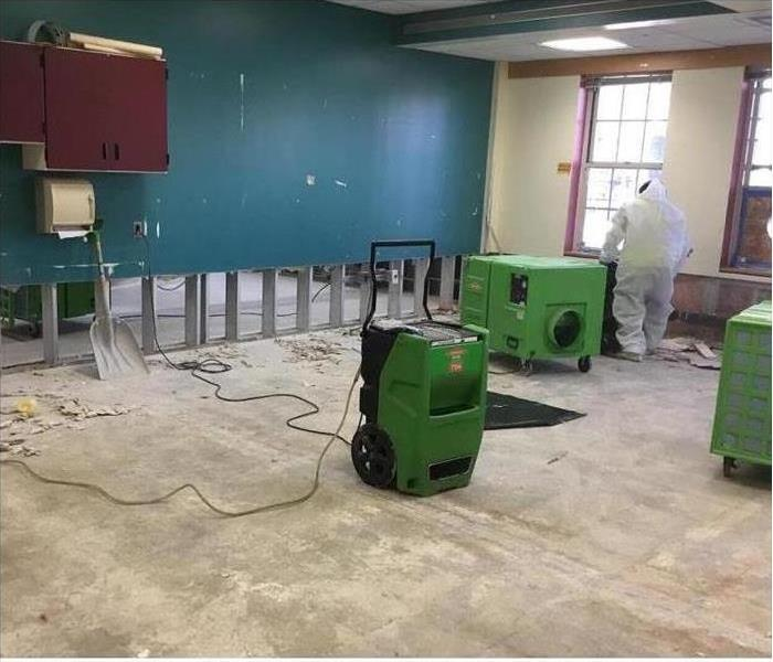 Mold remediation no issue to remedy in educational facility in Ulster County, NY Before
