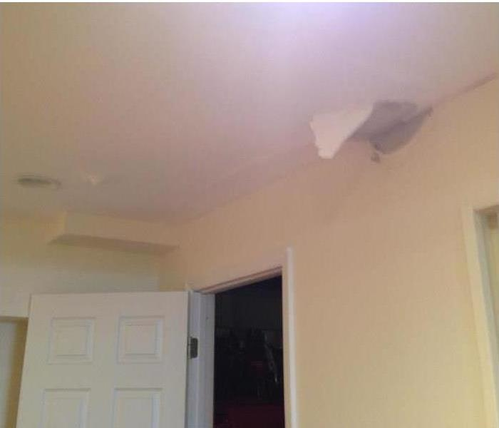 Water damage coming through ceiling in Kerhonkson, NY home