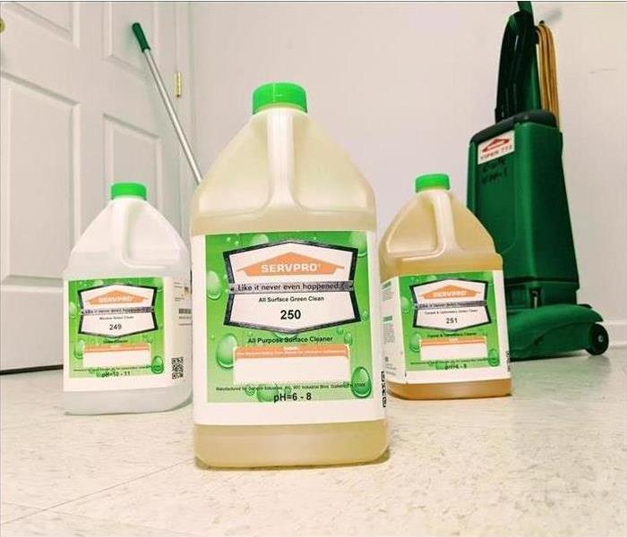 Why SERVPRO SERVPRO is helping to protect the environment by using Environmentally Friendly Cleaning Products!